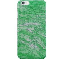 Green Basalt iPhone Case/Skin