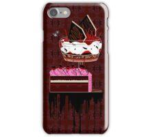 chocolate cherry pie iPhone Case/Skin