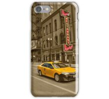 Chicago Taxi  iPhone Case/Skin