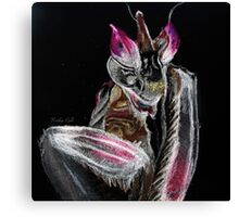 Neon Orchid Canvas Print