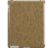 Golden vinyl texture iPad Case/Skin
