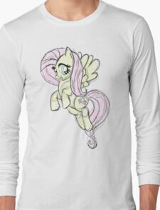 Fluttershy stencil art T-Shirt