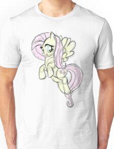 Fluttershy stencil art Unisex T-Shirt