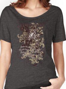Alice in Wonderland Jabberwocky Grunge Women's Relaxed Fit T-Shirt