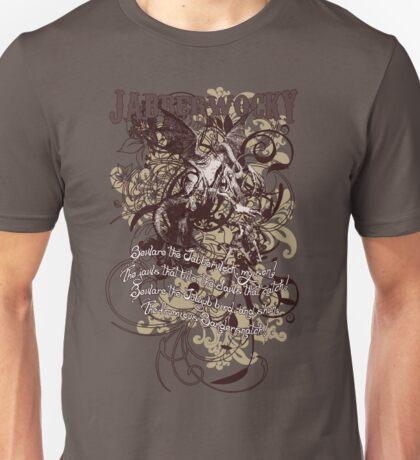 Alice in Wonderland Jabberwocky Grunge Unisex T-Shirt