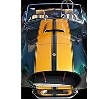 Shelby Cobra 'By a Nose'! Photographic Print