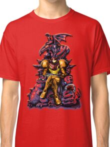 Metroid - The Huntress' Throne Classic T-Shirt
