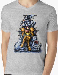 Metroid - The Huntress' Throne Mens V-Neck T-Shirt
