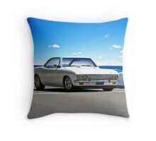 1965 Corvair 'Corsa Turbo' II Throw Pillow