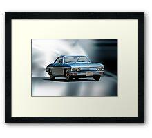 1965 Chevrolet Corvair I Framed Print