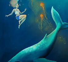 Whale Girl by BrodieHart