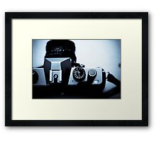 Analogue exposure dial Framed Print