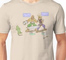 Battle Gauge Inconvience! Unisex T-Shirt