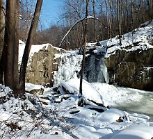 Winter Wonderland_Kilgore Falls  by Hope Ledebur