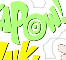 CRASH-KAPOW-SOCK-BIFF-THUNK! Sticker
