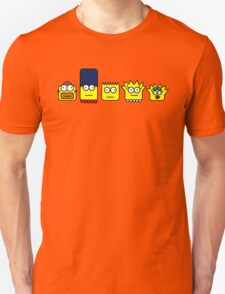 Simpson, homer, Marge, Bart, Lisa and Maggie T-Shirt