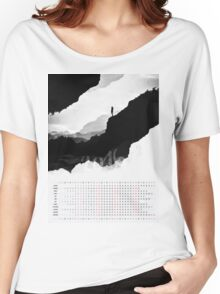 2016 Calendar White Isolation  Women's Relaxed Fit T-Shirt
