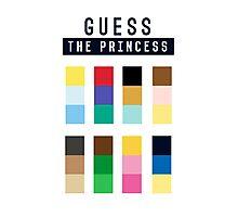 Guess the princess disney Photographic Print
