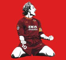 Francesco Totti by Henrique Gonçalves