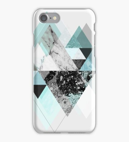 Graphic 110 (Turquoise Version) iPhone Case/Skin