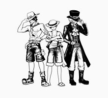 One Piece Brothers - Lineart Unisex T-Shirt