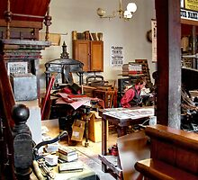 Inside the Ballarat Times Office by Christine Smith