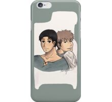 Jean and Marco iPhone Case/Skin