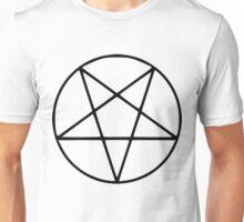 Satanic Black Pentagram Unisex T-Shirt