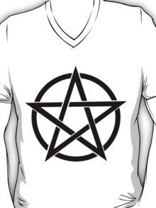 Punk Pentagram  T-Shirt