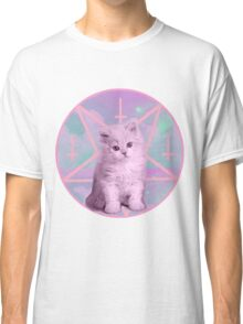 Pentagram Kitty Classic T-Shirt