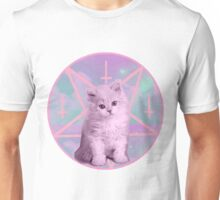 Pentagram Kitty Unisex T-Shirt