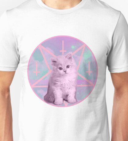 Pentagram Kitty Unisex T-Shirt