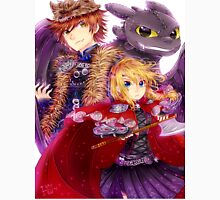 Httyd 2 - Red Riding AU Unisex T-Shirt