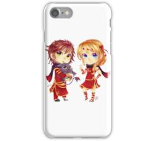 Chibi Hiccup and Astrid iPhone Case/Skin