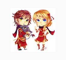 Chibi Hiccup and Astrid Unisex T-Shirt