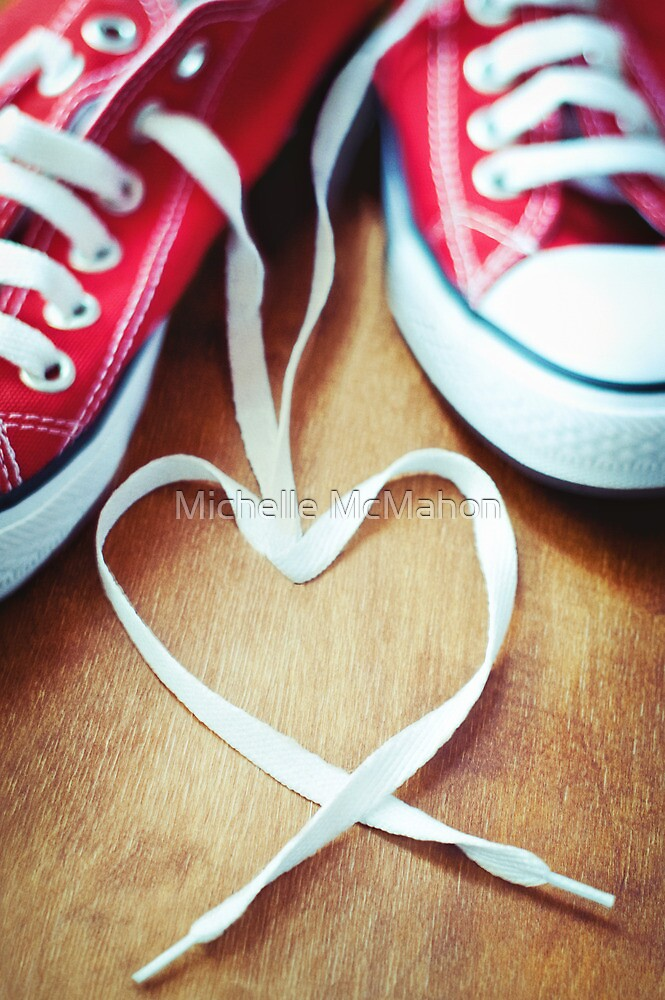 sneaker love by Michelle McMahon