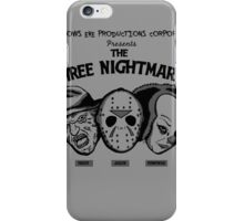 The Three Nightmares iPhone Case/Skin