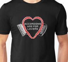 accordions are for lovers for dark colors! T-Shirt