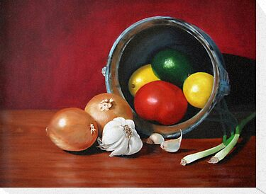 Fruits and Vegetables by Lily Van Dyck