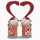 Canned Bunny Love by gregure