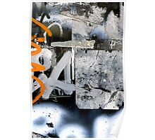 A CLOSER NY - A AND ORANGE Poster