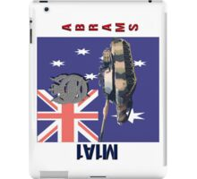 M1A1 Abrams Australia iPad Case/Skin
