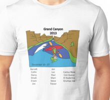 Grand Canyon 2013 with names Unisex T-Shirt