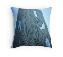 Blu Aqua Throw Pillow