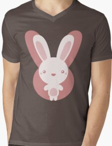 The stuffed toy of the rabbit Mens V-Neck T-Shirt
