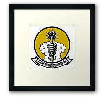 VFA-27 Royal Maces Patch Framed Print