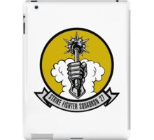 VFA-27 Royal Maces Patch iPad Case/Skin