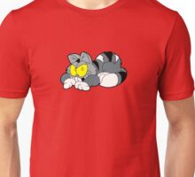 Mad Cat Hates Mondays! Unisex T-Shirt