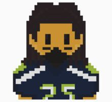 8Bit Richard Sherman Seattle Seahawks - 3SQUIRE Kids Clothes