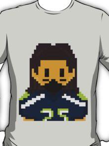 8Bit Richard Sherman Seattle Seahawks - 3SQUIRE T-Shirt